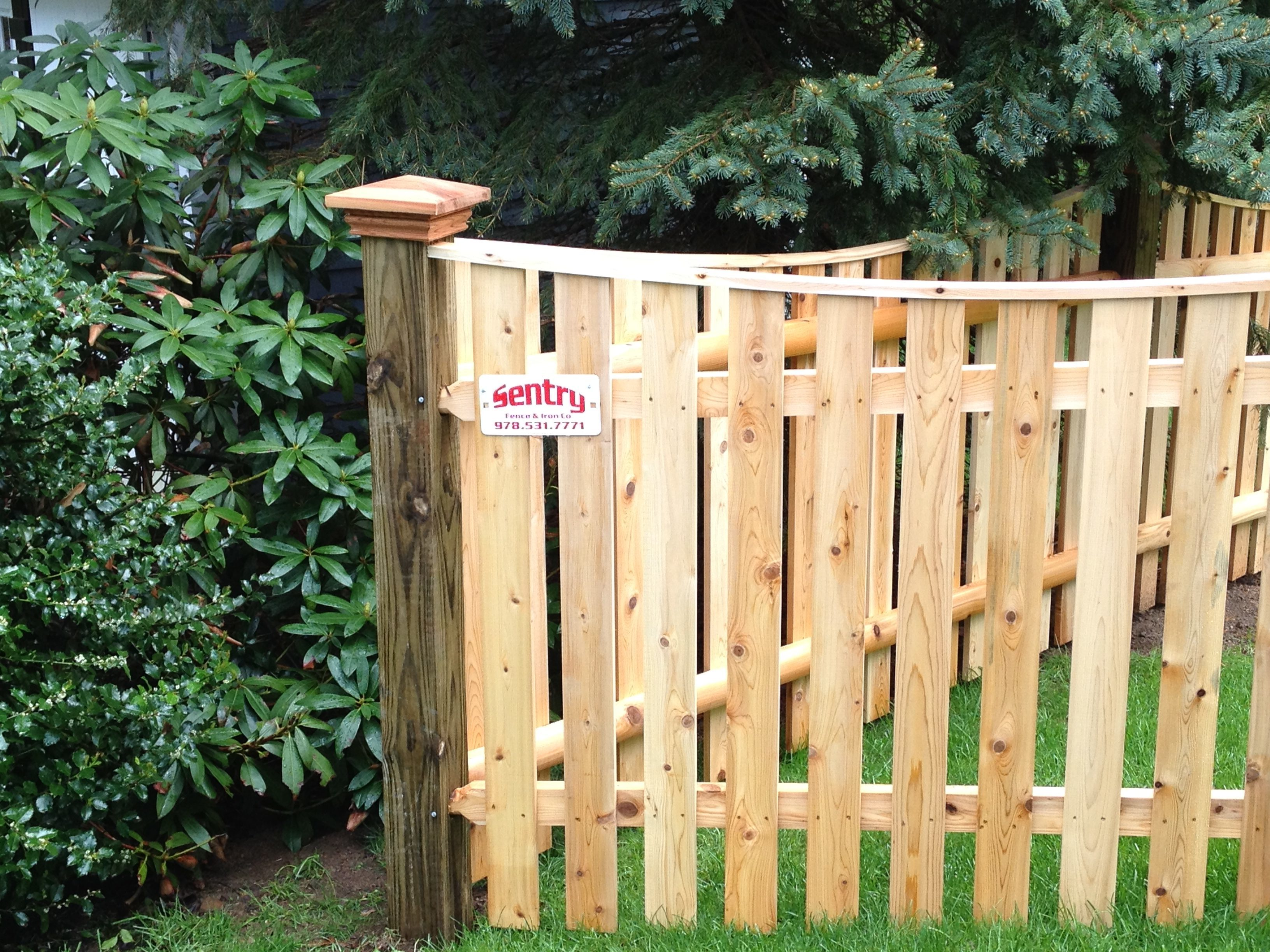Wood Fencing | Sentry Fence & Iron Company
