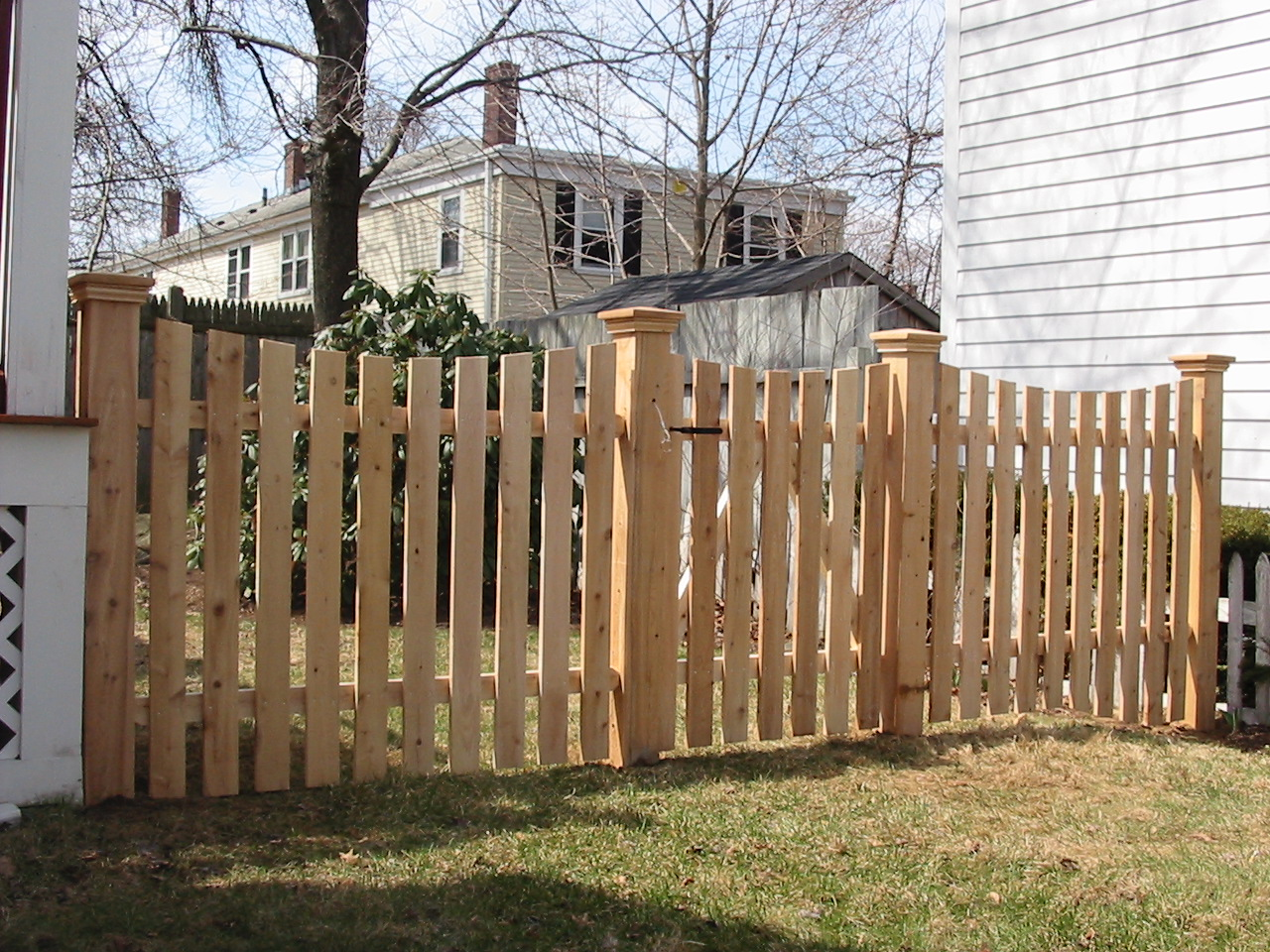 Wood Fencing Sentry Fence Amp Iron Company