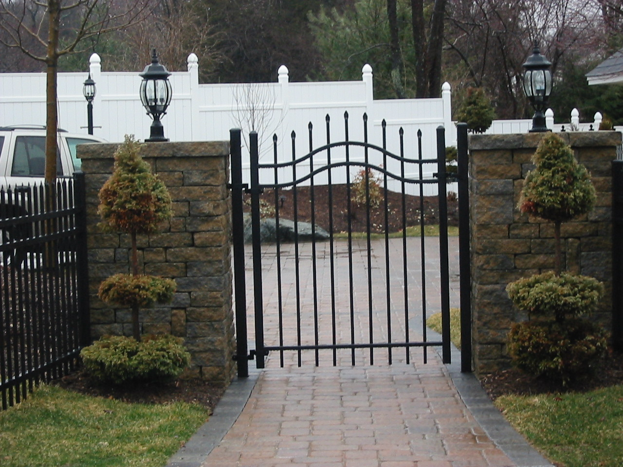 Ornamental fencing sentry fence iron company